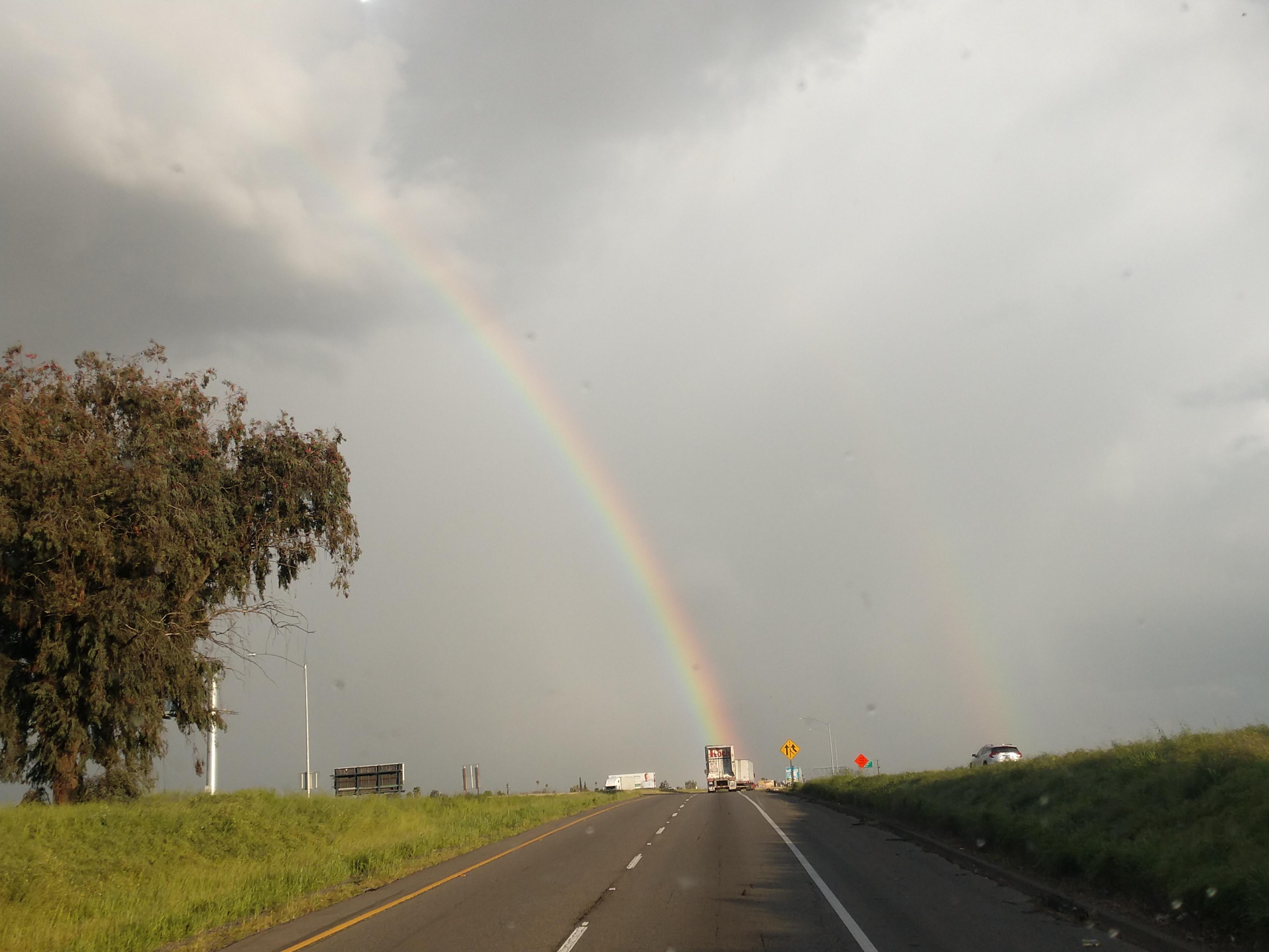 CA rainbow