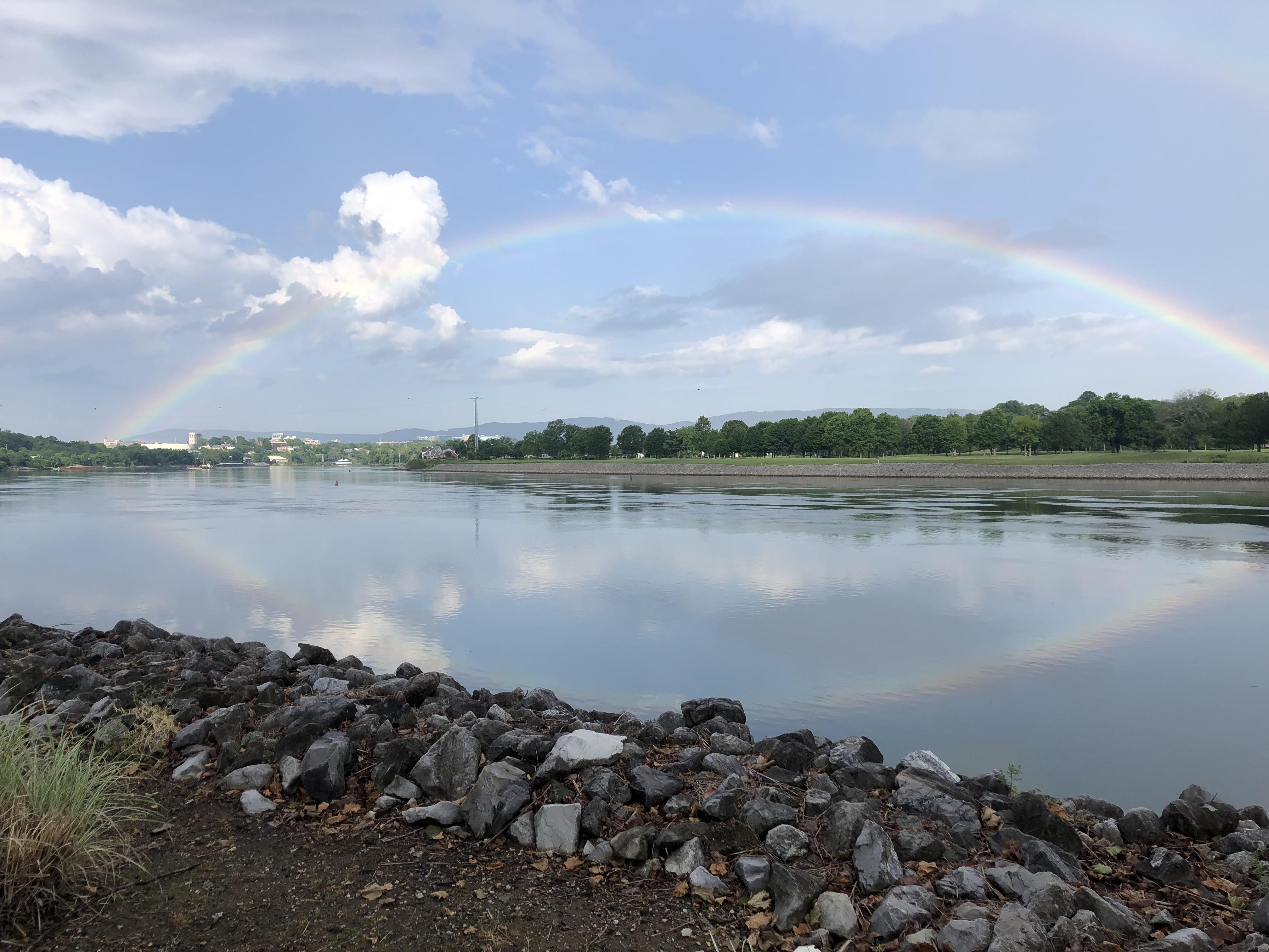 Tenn River rainbow